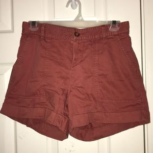 Rusty Red Shorts